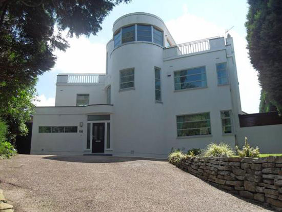 1920s four-bedroom art deco house in Handforth, Cheshire