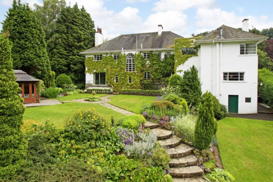 On the market: Five-bedroom 1930s art deco property in Harrogate, North Yorkshire