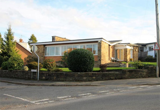 1950s midcentury modern house in Bolton, Lancashire