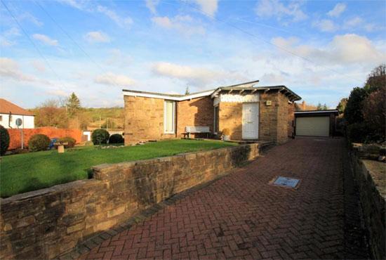 1950s midcentury modern house in Bolton, Lancashire