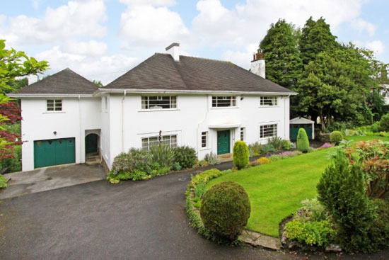 Five-bedroom 1930s art deco property in Harrogate, North Yorkshire
