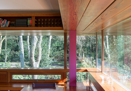Michael Wilford-designed contemporary modernist property in Hartfield, East Sussex