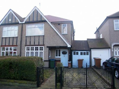 1930s semi-detached house in North Harrow, Middlesex