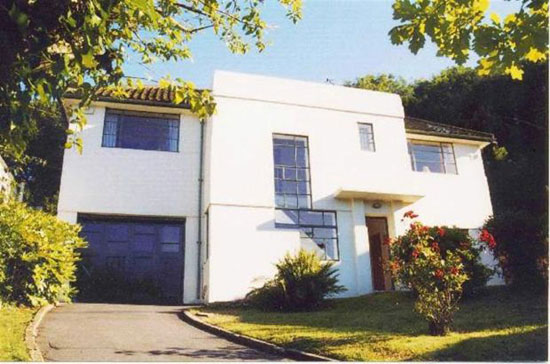 1930s art deco four-bedroom house in Hastings, East Sussex
