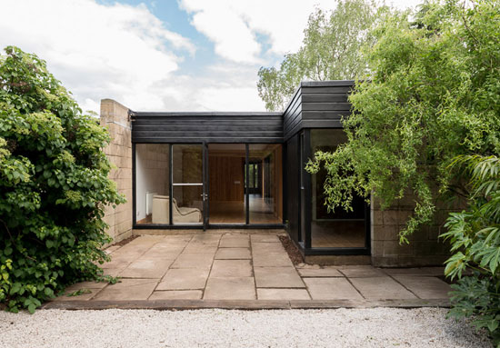 On the market: 1960s modernist property on the Cockaigne Housing Group development in Hatfield, Hertfordshire