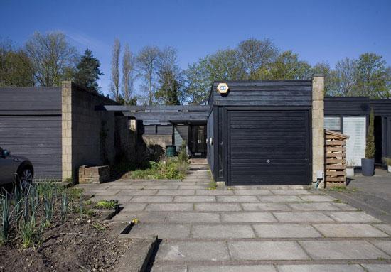 1960s single-storey property on the Cockaigne Housing Group development, Hatfield, Hertfordshire