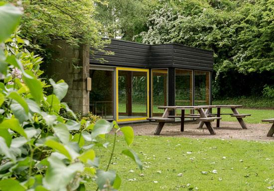 1960s modernist property on the Cockaigne Housing Group development in Hatfield, Hertfordshire