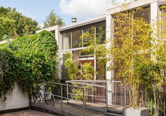 On the market: Buckley Gray Yeoman-designed four-bedroom contemporary modernist property in Haven Mews, London N1