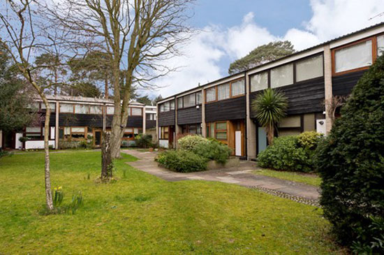 On the market: 1950s Andrews, Emerson and Sherlock-designed modernist terraced property in Wimbledon, London SW19