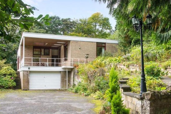 1970s Tree Tops architect-designed modernist property in Hawick in the Scottish Borders