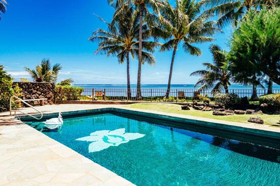 1950s A-frame beach house in Honolulu, Hawaii, USA