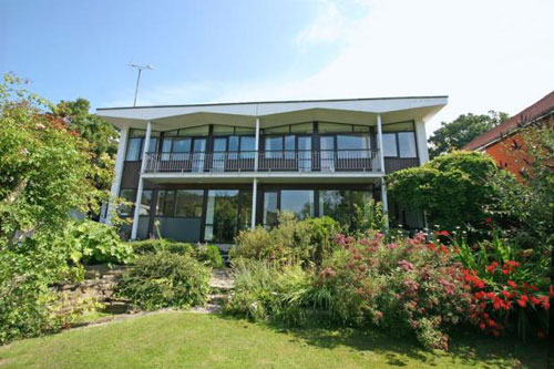 On the market: 1960s L R Barlow-designed five-bedroomed house in Haywards Heath, Sussex