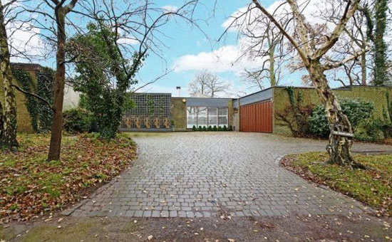 On the market: 1960s four-bedroom single-storey modernist property in Haywards Heath, West Sussex