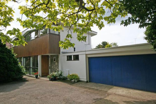 L R Barlow-designed five-bedroomed house in Haywards Heath, Sussex