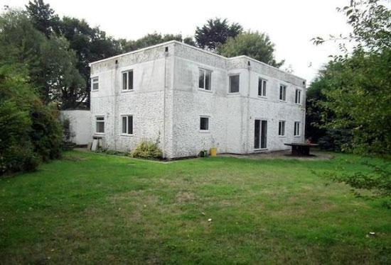 1930s five-bedroom art deco property in Hayling Island, Hampshire