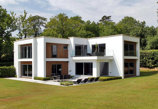 Five-bedroom contemporary modernist property in Haywards Heath, West Sussex