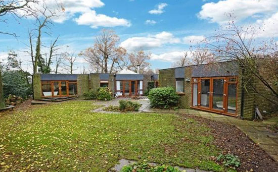 1960s four-bedroom single-storey modernist property in Haywards Heath, West Sussex