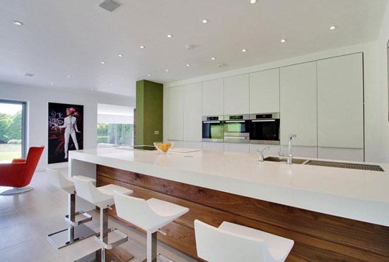 Five-bedroom contemporary modernist property in Haywards Heath, West Sussex