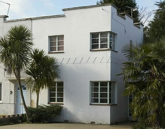 On the market: Two bedroom 1930s art deco semi-detached house in North Hayes, Middlesex