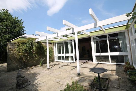 1960s midcentury-style single-storey property in Heaton Mersey, Stockport, Cheshire