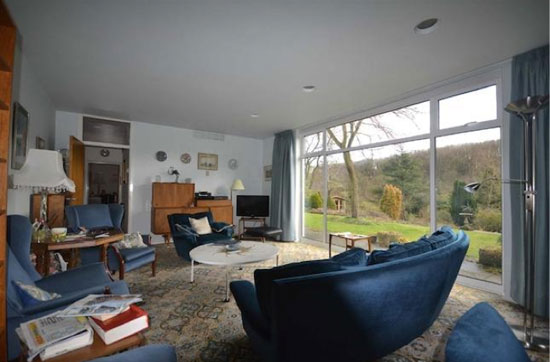 Three-bedroom architect-designed 1960s property in Hemel Hempstead, Hertfordshire