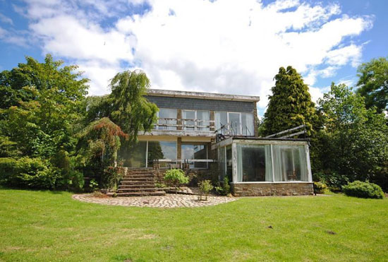 On the market: 1970s Henbury House in Henbury, Cheshire