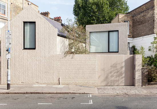 Chan & Eayrs-designed Herringbone House in London N16