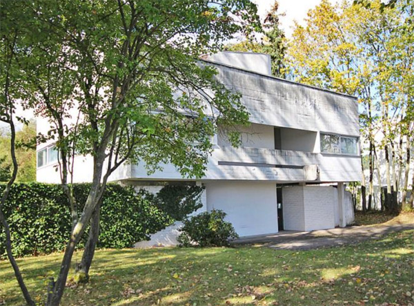 1960s Johannes Peter Holzinger house in Bad Nauheim, Hesse, Germany
