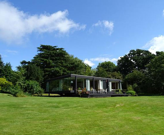 On the market: 1970s Peter Aldington and John Craig-designed Ketelfield in Higham, Suffolk