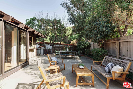 1960s Hideo A. Matsunaga midcentury modern house in Los Angeles, California, USA