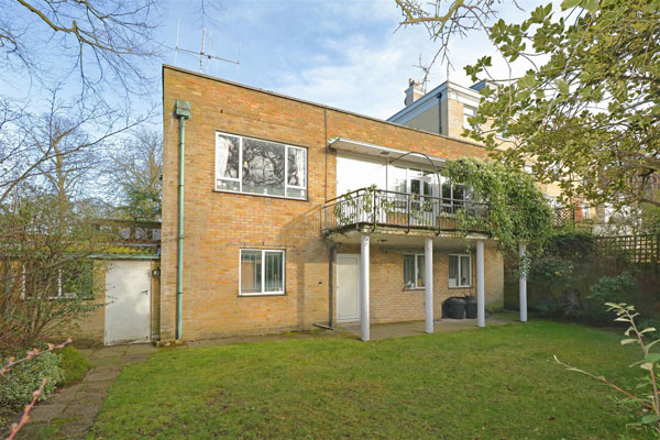 1950s modernist time capsule in Highgate, London N6
