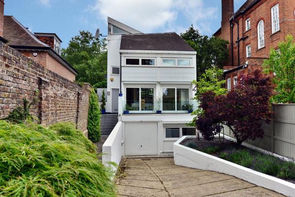 1970s Stout & Litchfield modern house in Highgate, London N6