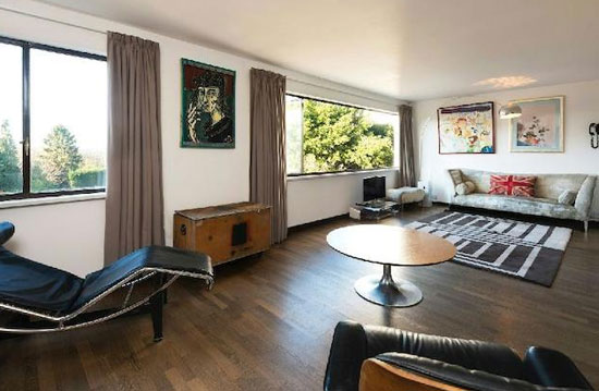 On the market: Four-bedroom duplex apartment in the 1930s Berthold Lubetkin-designed Highpoint II building in North Hill, London N6