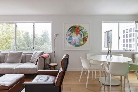 Apartment in Berthold Lubetkin's Highpoint, London N6