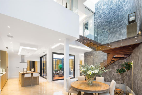 Langtry House contemporary modernist property in Hampstead, London NW3