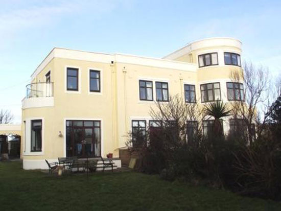 On the market: 1930s Hillhome four bedroom art deco property in Portencross, West Kilbride, Ayrshire