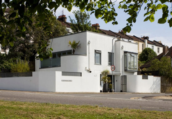 On the market: Donal Hutchinson-designed contemporary modernist property in Hove, East Sussex