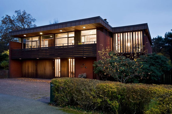 11. 1960s modernist property in Stockholm, Sweden