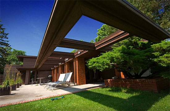17. Frank Lloyd Wright-designed Schwartz House in Two Rivers, Wisconsin, USA