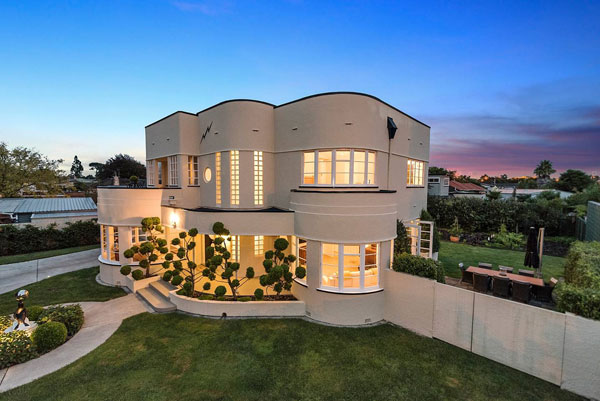 22. The Art Deco House in Hamilton, New Zealand