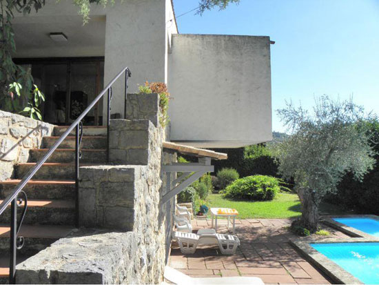 On the market: 1960s modernist villa in Grasse, Cote d'Azur, south east France