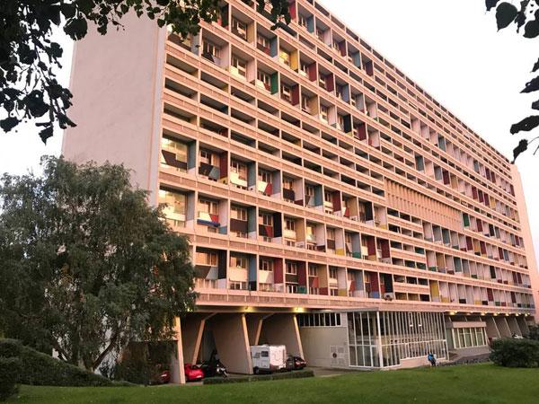 4. Apartment in the Le Corbusier Unite d'Habitation in Berlin, Germany