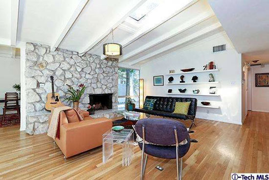1950s William Krisel and Dan Palmer-designed midcentury modern property in North Hollywood, California, USA