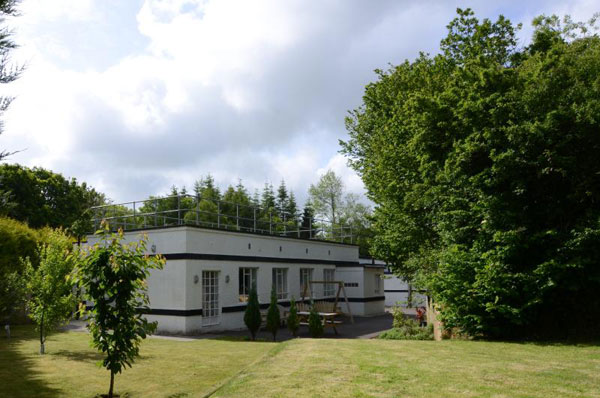9. Art deco-style Filter House in Ladock, Cornwall