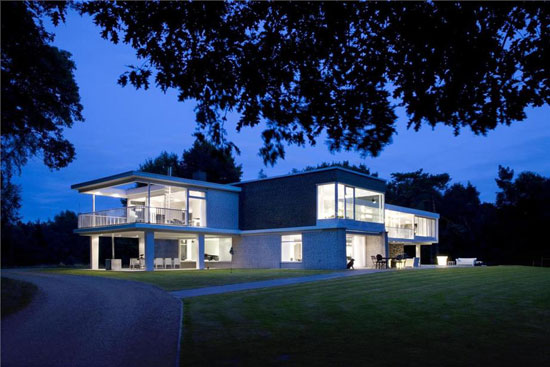 On the market: Four-bedroom 1960s modernist property in Waalre, near Eindhoven, Holland