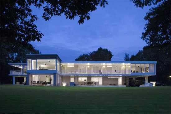 Four-bedroom 1960s modernist property in Waalre, near Eindhoven, Holland