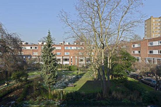 1960s five bedroom terraced house in Holland Park, London W14