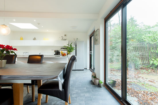 1960s modernist property in Hook, Hampshire