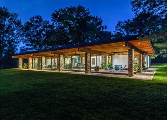 On the market: 1970s Philip Collins-designed modernist property in Hopewell, New Jersey, USA