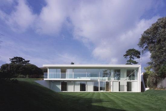 On the market: Richard Horden-designed modernist property in Evening Hill, Poole, Dorset